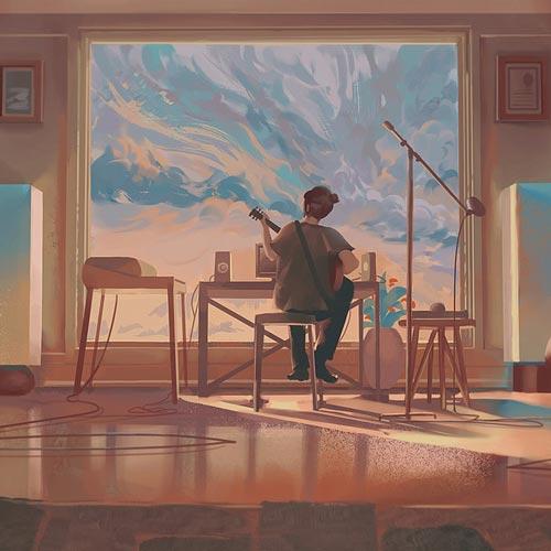 قبل از طلوع آفتاب ، موسیقی لو فای آرامش بخش از دیلان ویترو