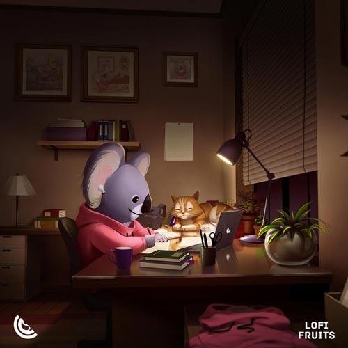 با من مطالعه کن ، آلبوم موسیقی لو فای آرامش بخش از لوفی فروتس موزیک