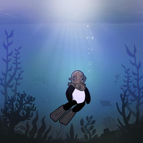 قدم زدن در آب ، موسیقی لو فای آرامش بخش و خیال انگیز از بی کالم