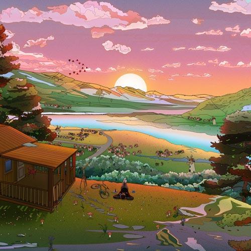 خواندن ابر ، موسیقی لو فای آرامش بخش از انلاو