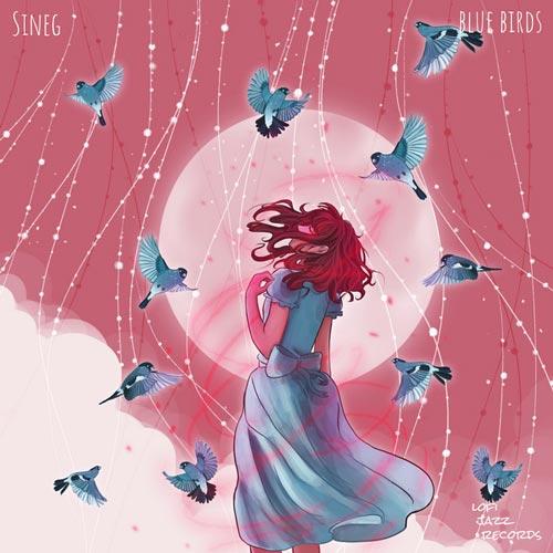 پرندگان آبی ، موسیقی لو فای خیال انگیز و آرامش بخش از سینگ