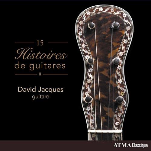15 داستان گیتار کلاسیک اثری از دیوید ژاک