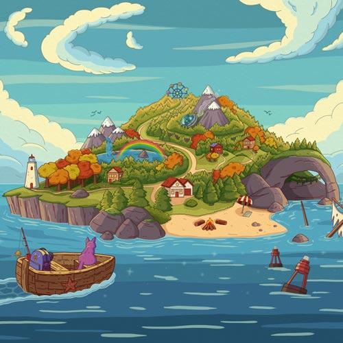 جزیره ماجراجویی – پرپل کت